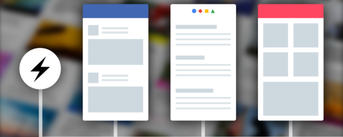 Facebook Instant Articles support Google AMP and Apple News